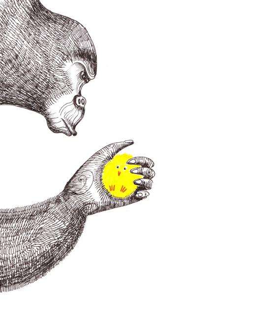 Gorilla by Amanda Jane Fletcher